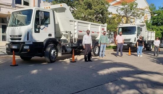 Armstrong. Nuevo equipamiento para la limpieza de la ciudad.