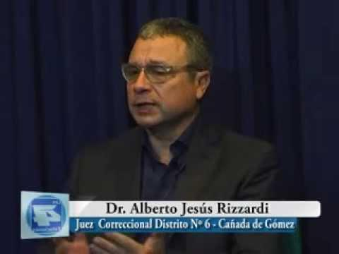 Falleció el Juez de Primera Instancia Dr. Alberto Jesús Rizziardi.
