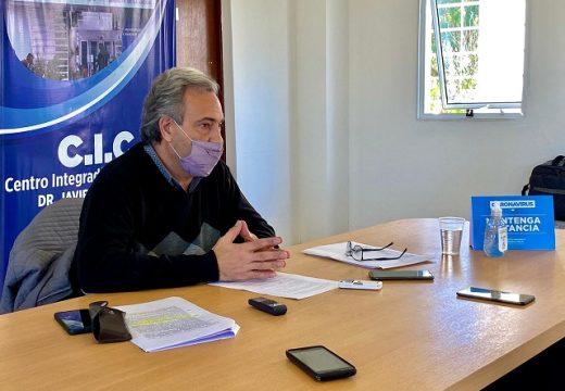 El concejo en pleno, respaldó el proyecto de Casalegno con  nuevas medidas para bajar los contagios.