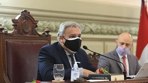 Farías asumió como nuevo presidente de la Cámara de Diputados y Diputadas.