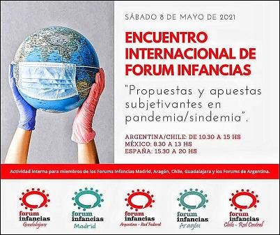 Profesionales de la región participaron de «1er Encuentro Internacional de los Forum Infancias».