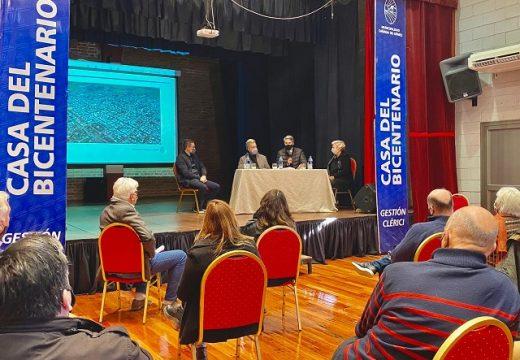 Clérici y Casalegno recibieron al Secretario de Turismo de Santa Fe Alejandro Grandinetti.