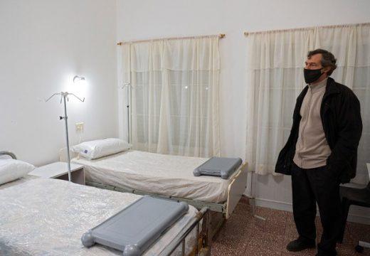 Armstrong. Habilitación salas en instalaciones del Hogar de Ancianos.