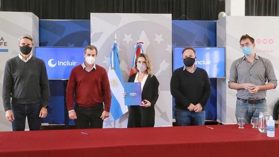 Plan Incluir: la provincia suscribió convenios por más de $7.300.000 con instituciones de los Departamentos Belgrano y Constitución.