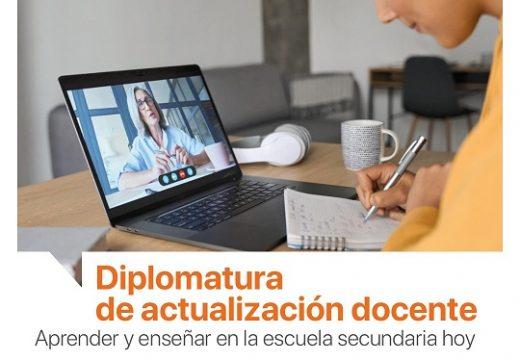 Diplomatura de actualización docente.