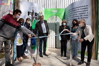Cañada de Gómez. Clérici y Casalegno habilitaron la Feria del Libro 2021.
