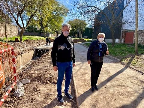 Cañada de Gómez- Municipio avanza con nuevos trabajos para pavimento.