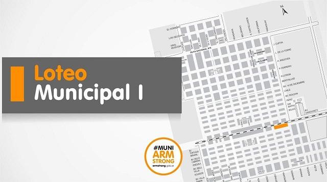 Armstrong. Se prorroga la fecha de inscripción para el Loteo Municipal I.