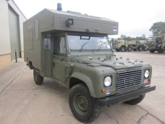 Land Rover 130 Defender Wolf RHD Ambulance
