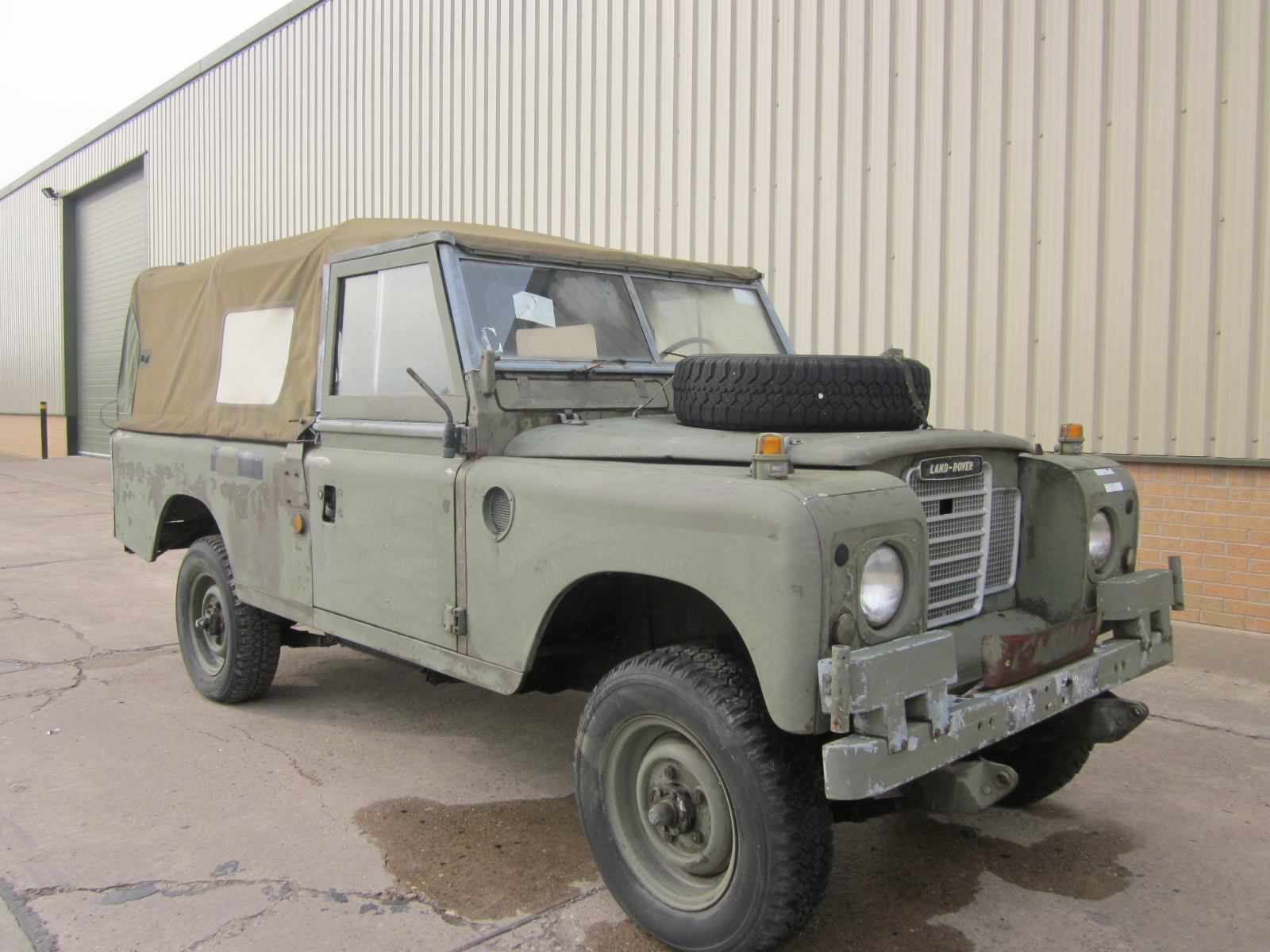 Land Rover Series III 109 LHD LWB soft tops sel for sale in