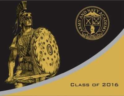 Army and Navy Academy Class of 2016 Graduation Announcements