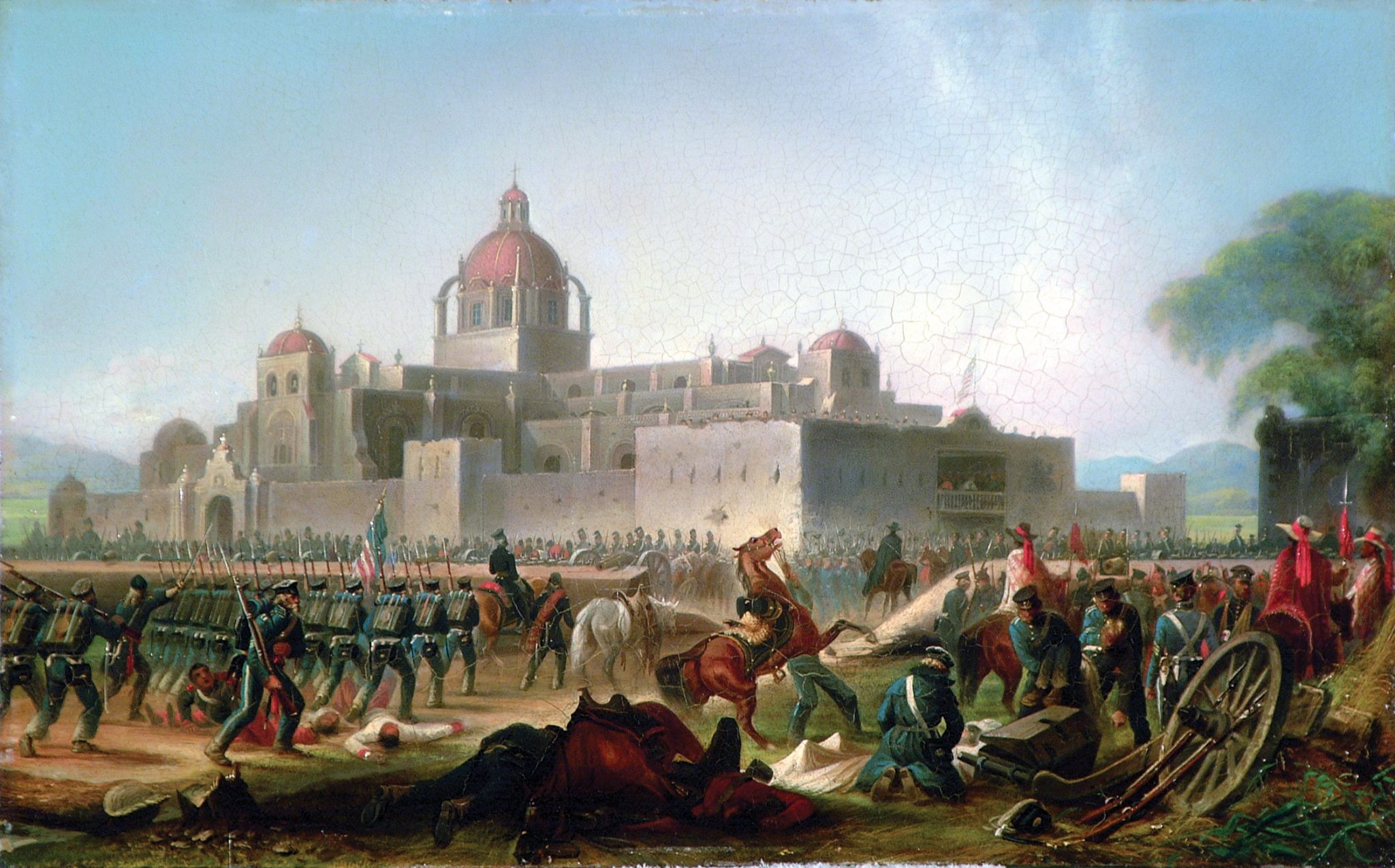 Army Artwork During The Mexican War