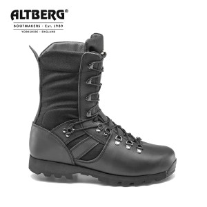 Altberg Jungle Microlite Military Combat Boot – Black