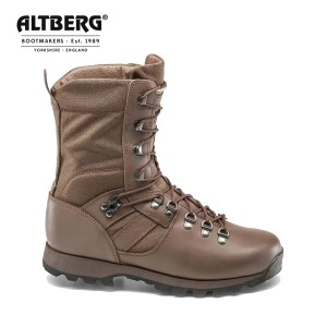 Altberg Jungle Microlite Military Combat Boot – MOD Brown