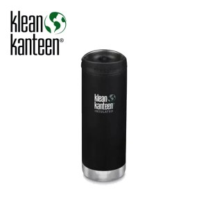 Klean Kanteen Insulated TKWide w/ Café Cap 473ml – Shale Black