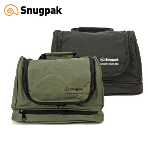 Snugpak Luxury Wash Bag – Black | Olive Green