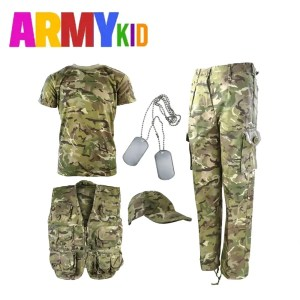 Kids Camouflage Explorer Army Kit BTP