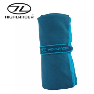 Highlander Soft Fibre Travel Towel – Blue