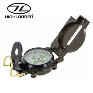 Highlander Lensatic Compass