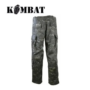 Kombat ACU-Style Assault Trousers – BTP Black