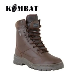 Kombat Patrol Boot – Full Leather – MOD Brown