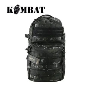 Kombat Tactical Molle Assault Pack – 28 Litres – BTP Black