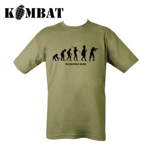Evolution T-shirt – Olive Green