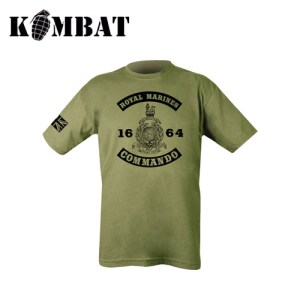 1664 Commando T-shirt – Olive Green
