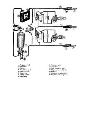 Figure 3 Circuit Diagram and parts Identification mago Timing light