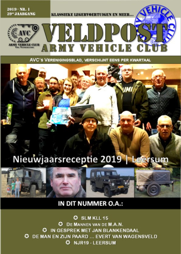 De Veldpost - Army Vehicle Club
