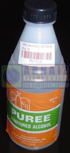 Denatured Alcohol - Arnaiz Electronics and Electrical Supply