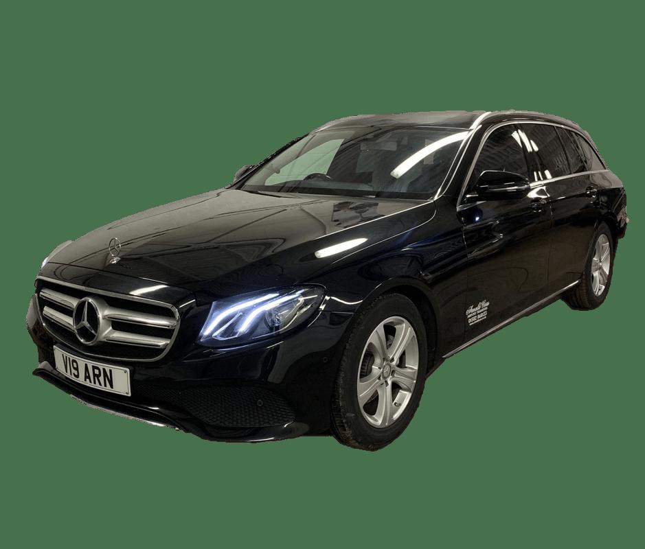 Mercedes E-Class Black