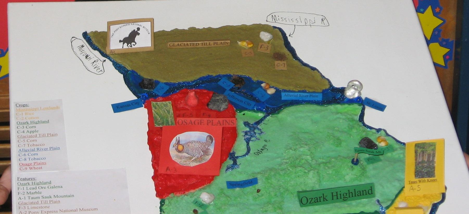 Missouri Map Projects