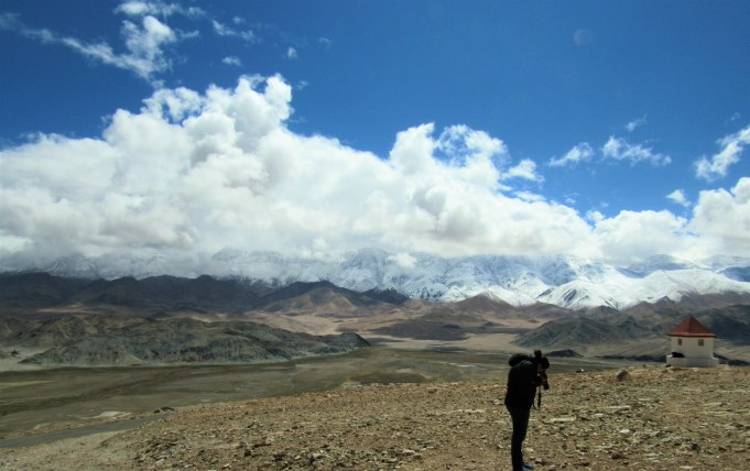 Great views from the Observatory! The Hanle Monastery is on the hill below.