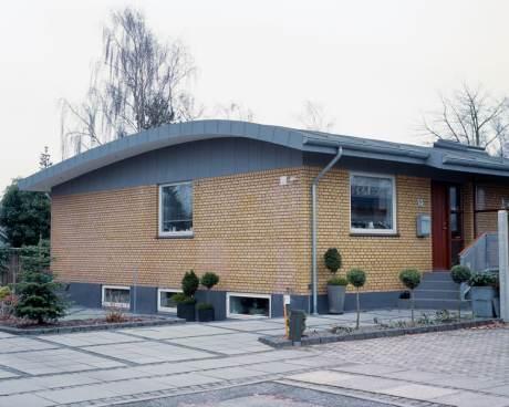 Tømrer- & Snedkerfirmaet Arne Danielsen A/S - Hus med tidligere fladt tag