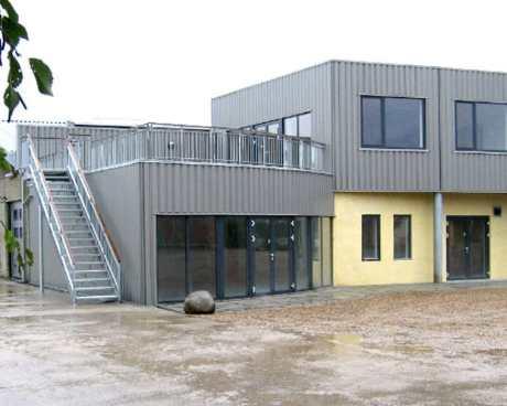 Tømrer- & Snedkerfirmaet Arne Danielsen A/S - Tilbygning