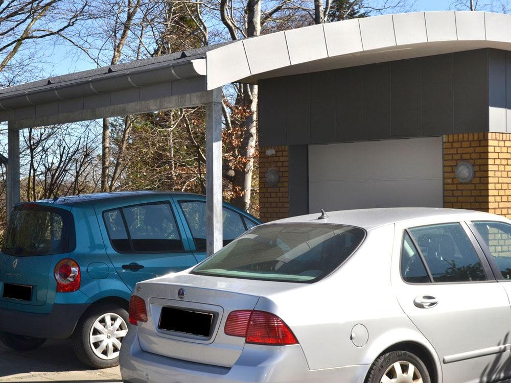 Tømrer- & Snedkerfirmaet Arne Danielsen A/S - Nyt tag på garage