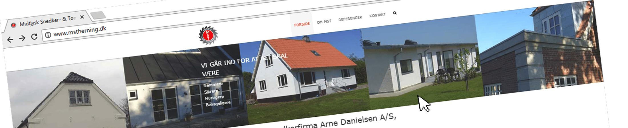 MST bliver til Arne Danielsen AS Herning