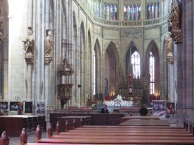 St. Vitus Cathedral Pulpit