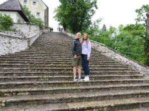 Quinn Spann with daughter Micaela