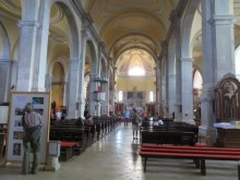 Interior of the Basilica