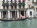 A gondola on the Grand Canal