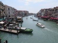 The Grand Canal looking south from the Rialto Bridge