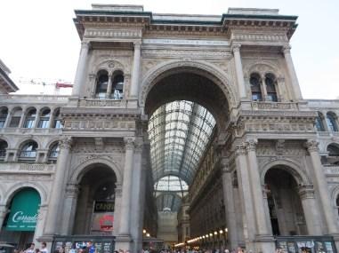 Galleria Vittorio Emanuele II - Ornate shopping arcade (1877)