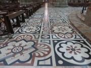Beautiful floors in the Duomo
