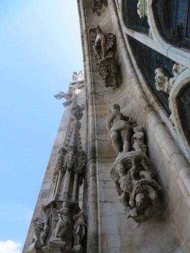 Sculptures abound