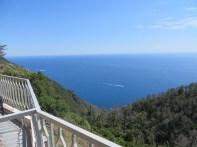 View outside our hotel above Riomaggiore
