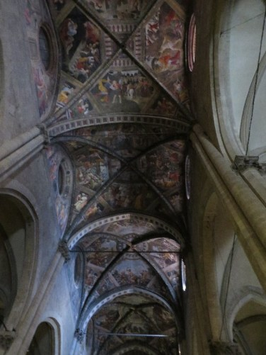 The ceiling in the Cattedrale (Cathedral)