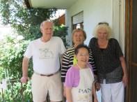 Peter, Hanh, Kathy, and Elke