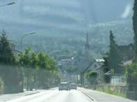 Driving through Schaan